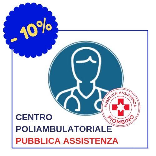 Centro Poliambulatoriale Pubblica Assistenza, via G.Bruno, 23