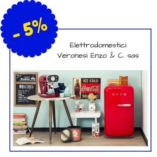 Elettrodomestici Veronesi Enzo & C. sas - Via Petrarca 50, Piombino - (Condizioni: lo sconto si applica solo in caso di pagamento in contanti)