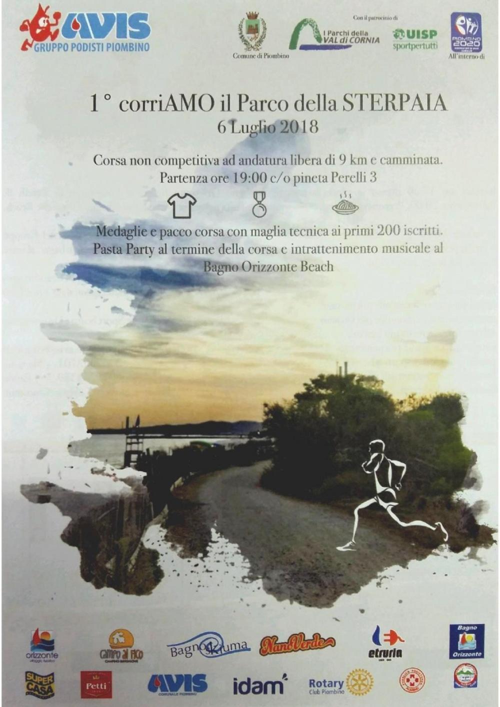 1° corriAMO il Parco della STERPAIA