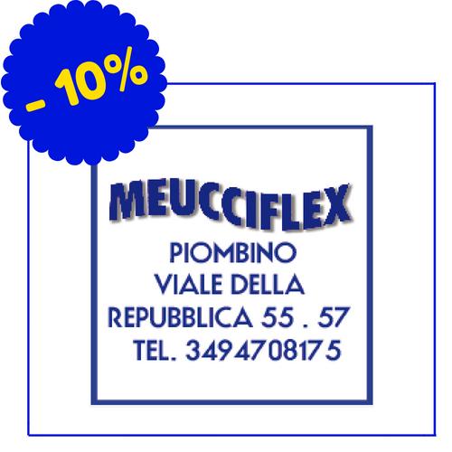 Meucciflex - Via della Repubblica 55/57, Piombino - Accessori 10%, materassi 5%, reti 5%