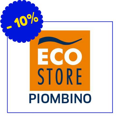 EcoStore - Viale della Repubblica 60/D, Piombino - (Condizioni: Lo sconto del 10% si applica solo sui prodotti a marchio Ecostore; per i rimanenti articoli lo sconto è vario)