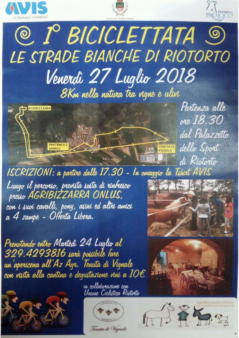 1° Biciclettata Le Strade Bianche di Riotorto