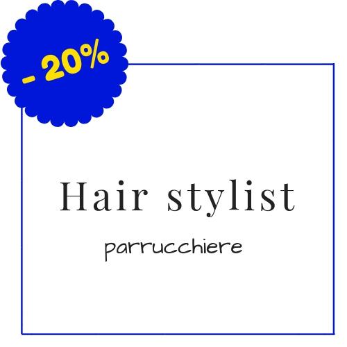 Hair stylist - Corso Italia 140, Piombino - (Condizioni: Le condizioni non si applicano per le vendite promozionali, saldi di fine stagione, in caso di merce già ribassata e per la merce con un prezzo inferiore a 50 euro)