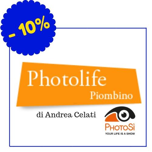 Photolife - Photosì Store - Corso Italia 42, Piombino - (Condizioni: le condizioni non si applicano per le vendite promozionali, saldi di fine stagione, in caso di merce già ribassata e per la merce con un prezzo inferiore a 25 euro),