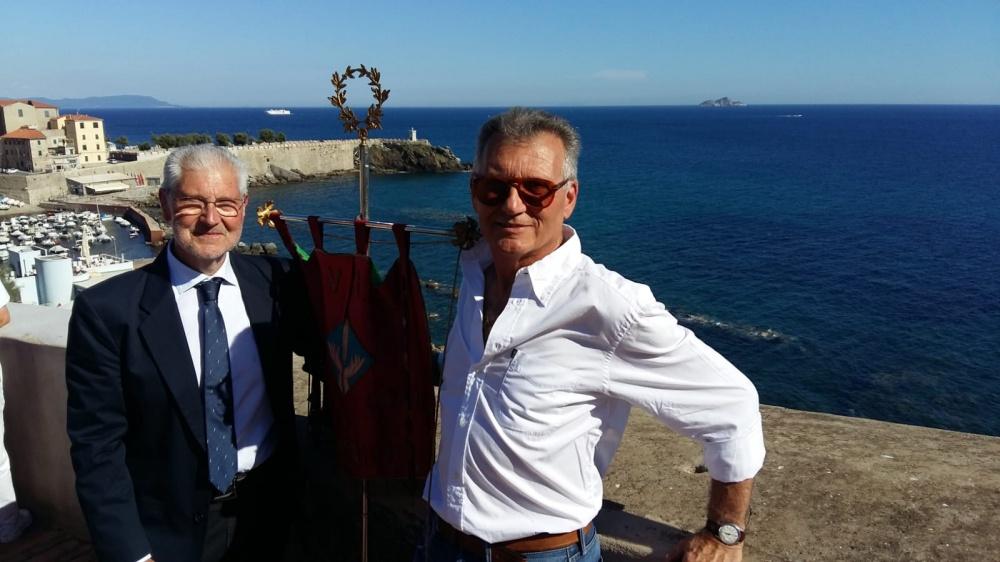 Il presidente Enzo Gilardetti (a destra) e il consigliere Massimo Castellani