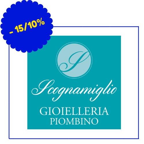 Gioielleria Scognamiglio - Corso Italia 17, Piombino - (Condizioni: 15% su oreficeria e gioielleria, no marchi cartellinati)