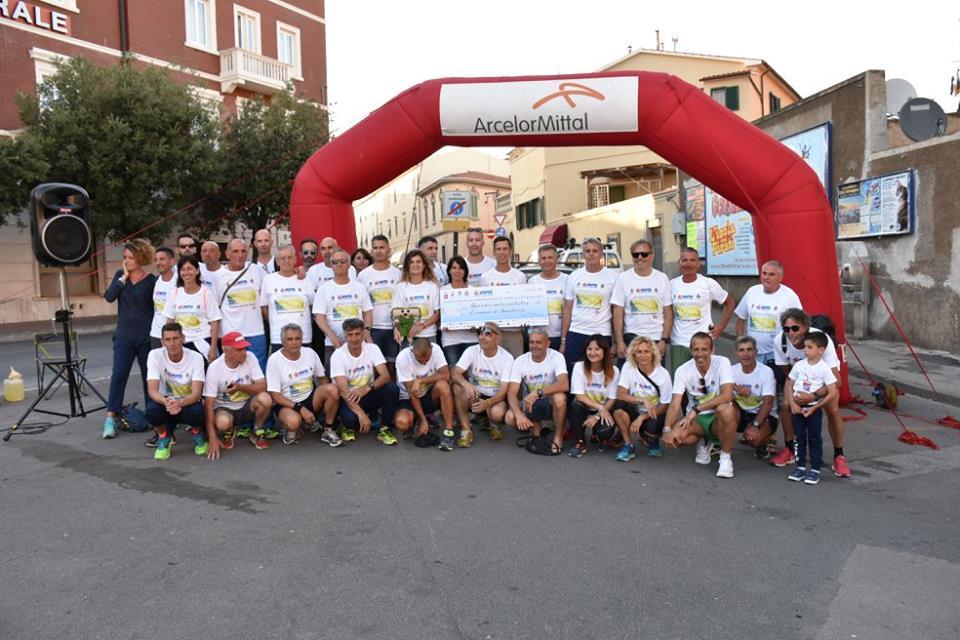 Staffetta Piombino-Amatrice con il Gruppo Podisti Avis