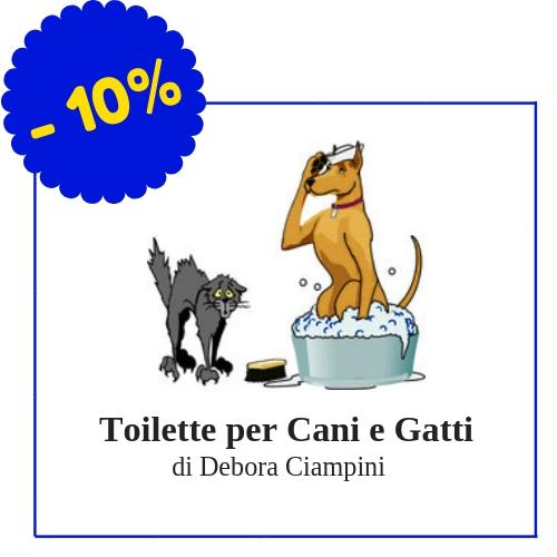 Toilette per Cani e Gatti - Via Appiani, 42, Piombino - (Condizioni: Sconto del 10% su tutti i prodotti di cosmesi per cani e gatti (shampoo, balsamo, profumi...) e su trattamenti di ozonoterapia)