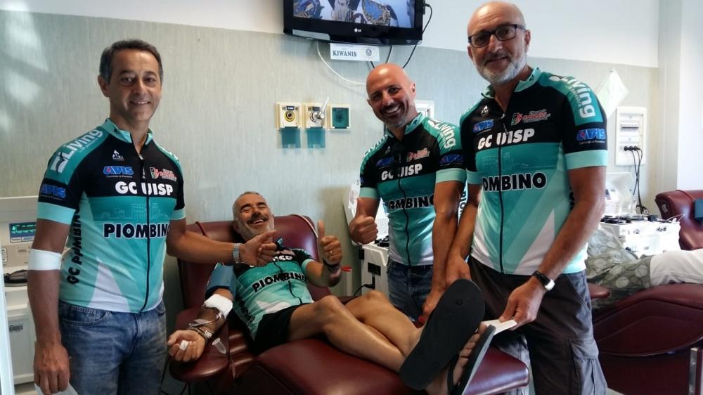 La donazione del Gruppo Ciclistico UISP Piombino
